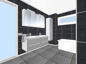 Bathroom planning 3D 1