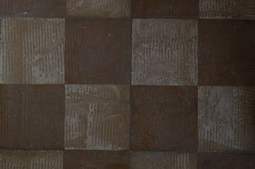 Floor grinded