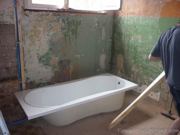 Bath check before