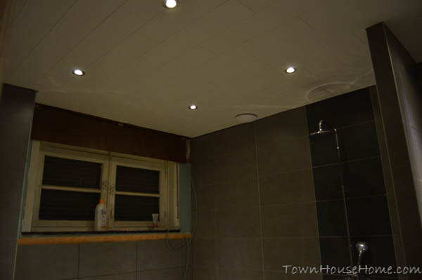 Bathroom ceiling night view 1