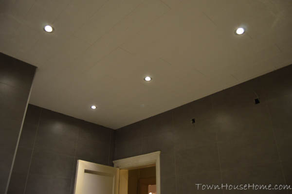 Bathroom ceiling night view 2