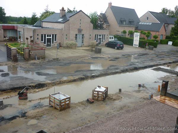 Street swimming pool