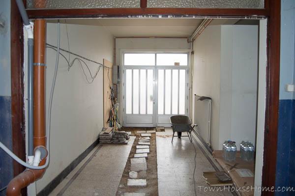 Empty entryway