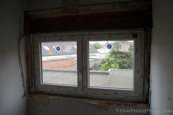 Window stairs inside