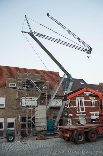 Front crane 2