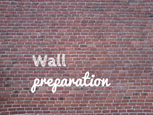 Wall preparation featured