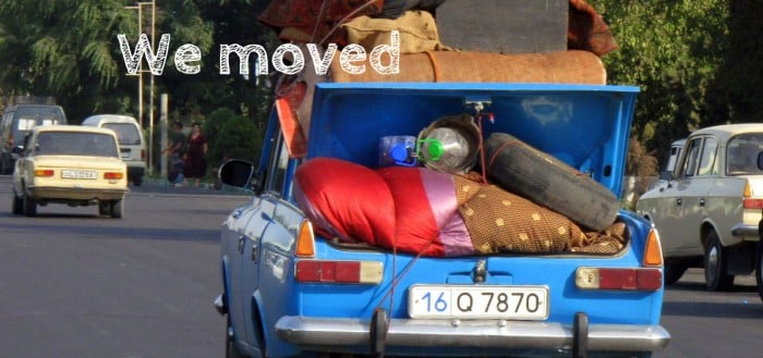 We moved featured