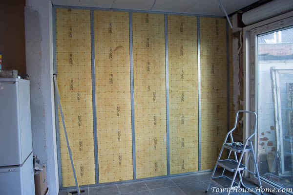 mud n tape insulated wall