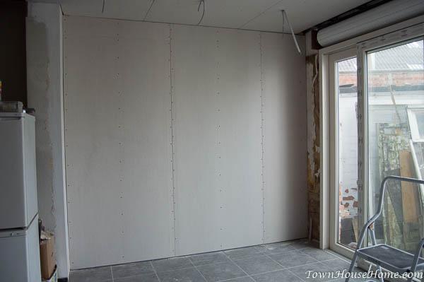 mud n tape drywall done