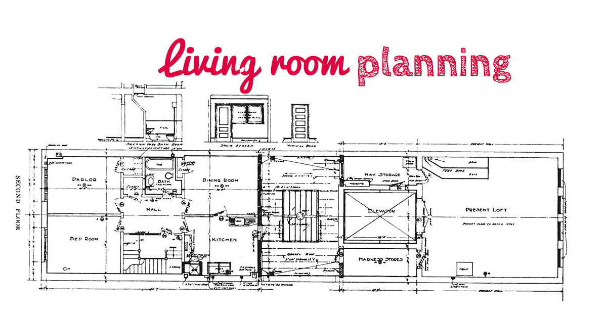 Planning the living room - TownHouseHome