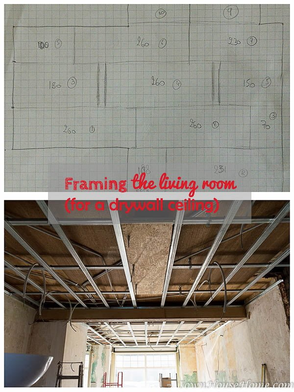 framing living room pin