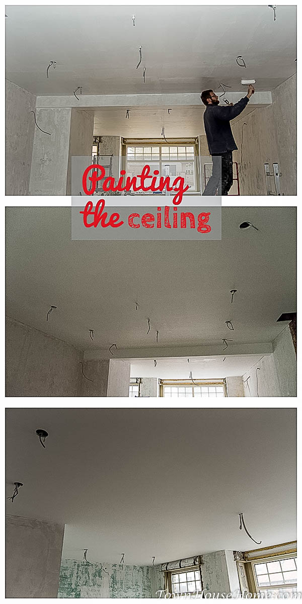 living room ceiling paint pin